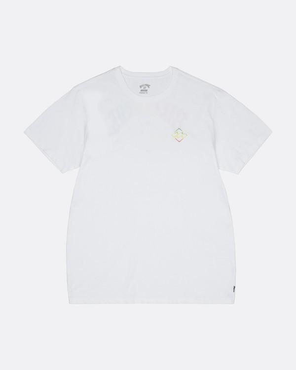 0 Bunker - Camiseta para Hombre Blanco S1SS33BIP0 Billabong