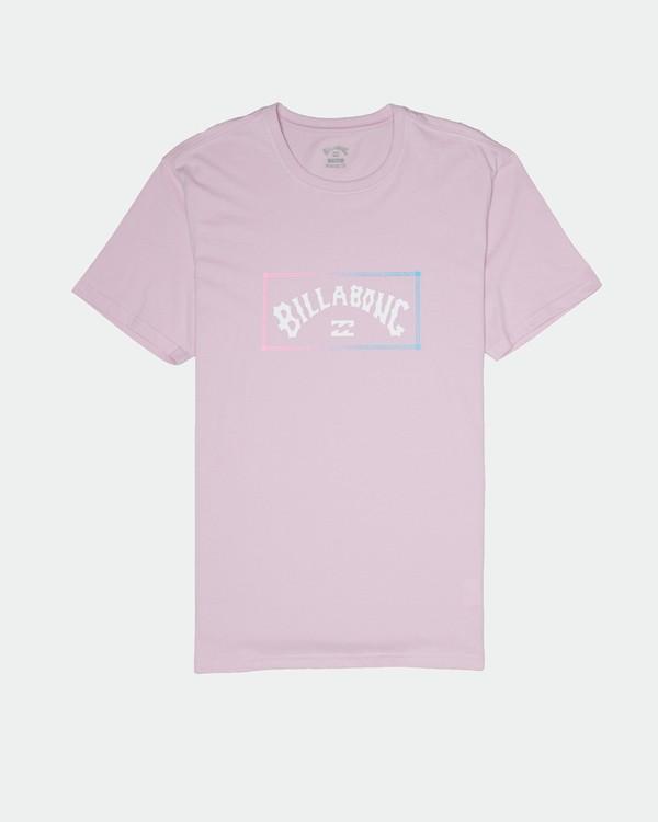 0 Arch - T-Shirt für Herren Violett S1SS38BIP0 Billabong
