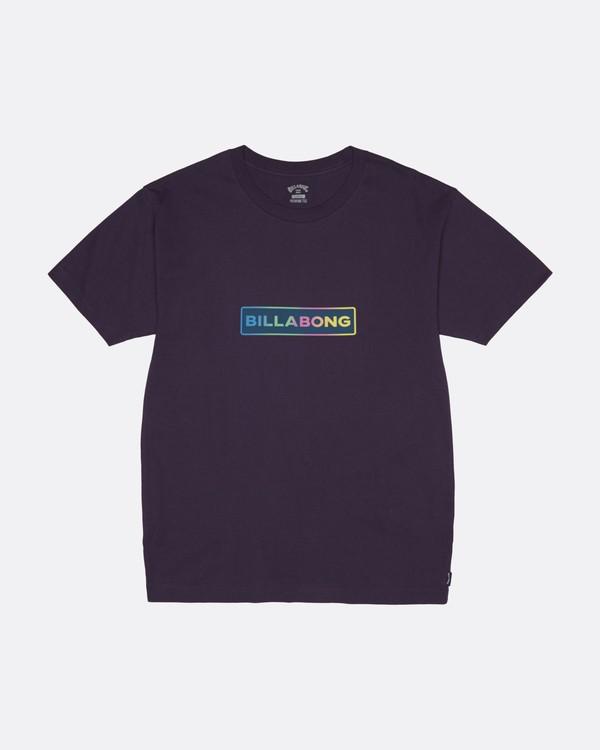 0 Raygun - T-Shirt for Men Purple S1SS41BIP0 Billabong
