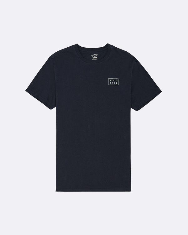 0 Die Cut - T-Shirt für Herren Blau S1SS42BIP0 Billabong