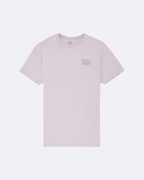 0 Die Cut - T-Shirt für Herren Violett S1SS42BIP0 Billabong