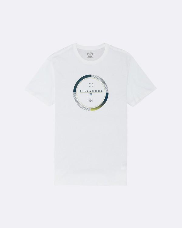 0 Full Rotator - T-Shirt für Herren Weiss S1SS45BIP0 Billabong