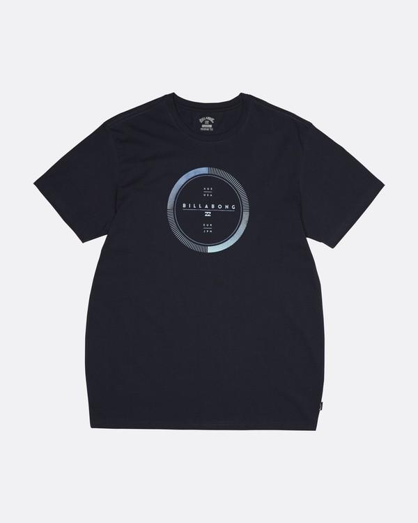 0 Full Rotator - T-Shirt für Herren Blau S1SS45BIP0 Billabong