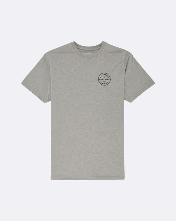 0 Rotor Adiv - T-Shirt für Herren Grau S1SS53BIP0 Billabong