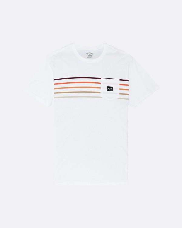 0 Riot Spinner - Camiseta para Hombre Blanco S1SS57BIP0 Billabong