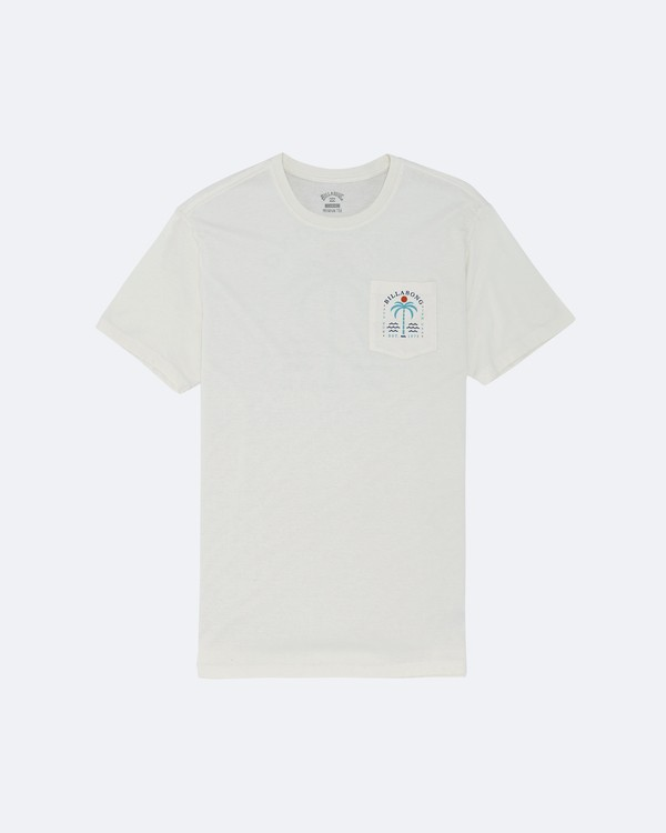 0 Shooner - T-Shirt for Men White S1SS58BIP0 Billabong