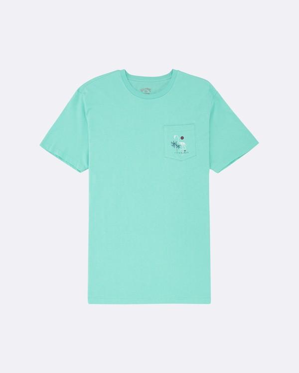 0 Shooner - T-Shirt for Men Blue S1SS58BIP0 Billabong