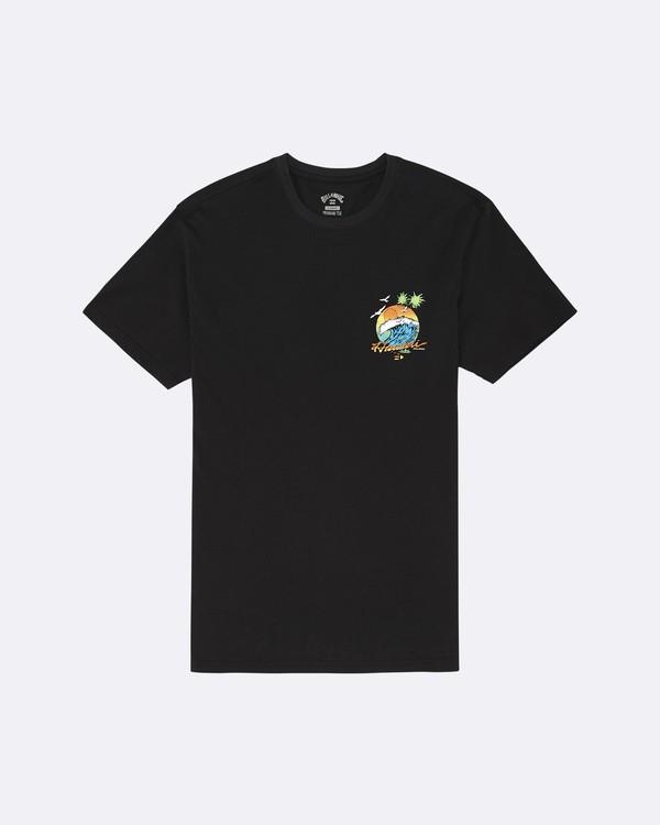 0 Dreamy Place - T-Shirt pour Homme Noir S1SS60BIP0 Billabong