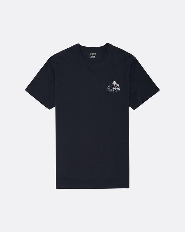0 Social Club - Camiseta para Hombre Azul S1SS64BIP0 Billabong