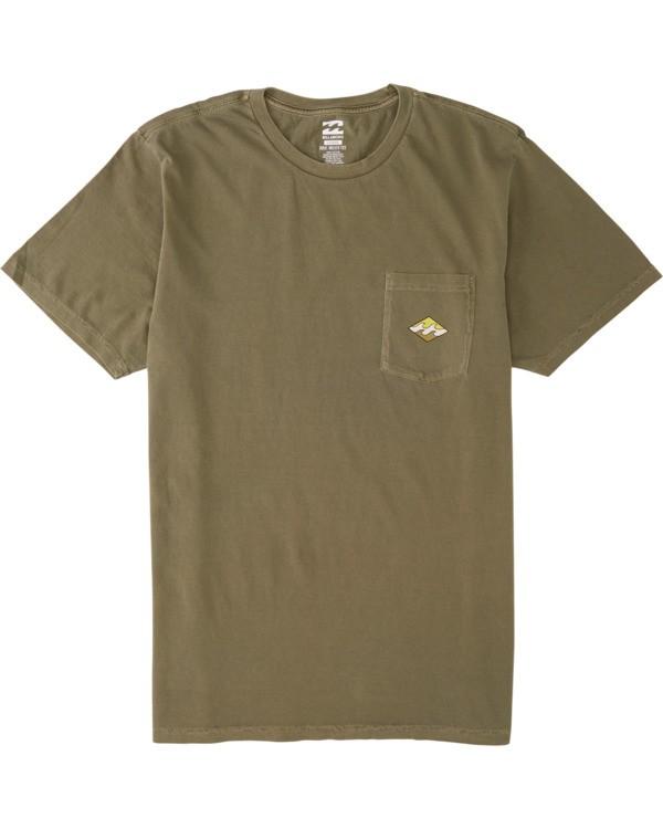 0 Chill Shirt - T-Shirt for Men Green S1SS67BIP0 Billabong