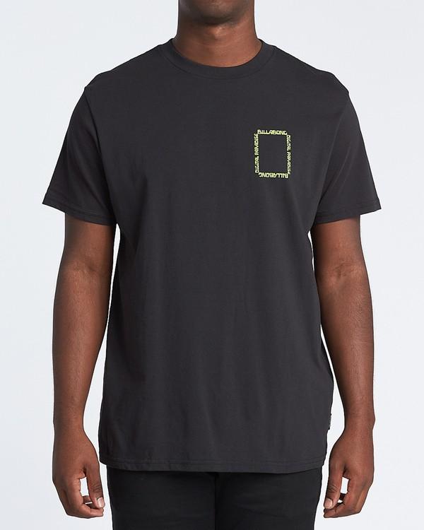 0 Paradise - T-Shirt für Herren Schwarz S1SS69BIP0 Billabong