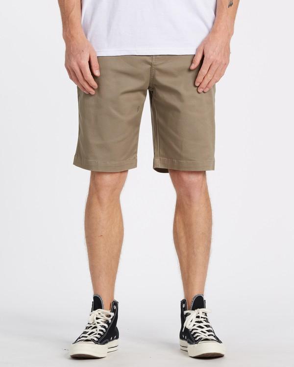 "0 Carter 21"" - Pantalones cortos para Hombre Verde S1WK04BIP0 Billabong"