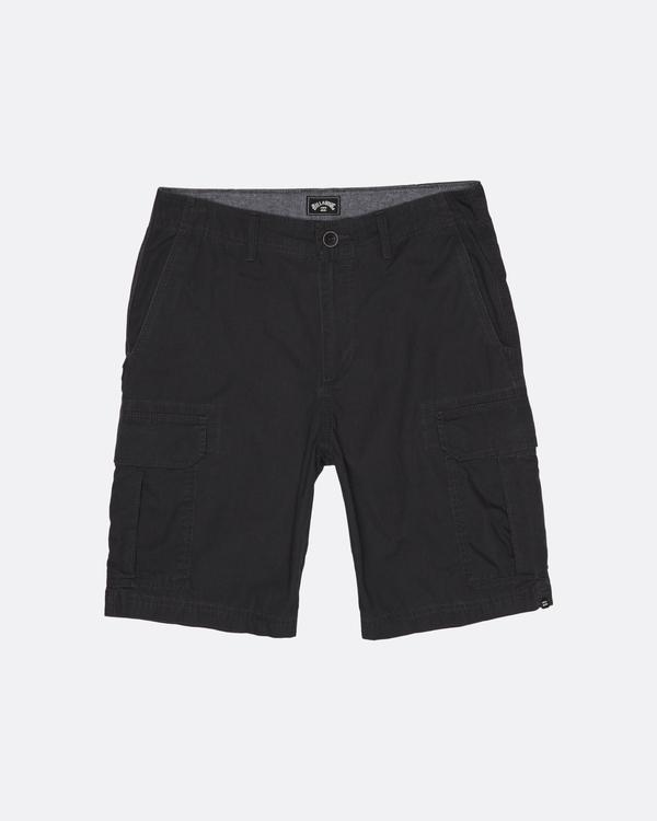 "0 Scheme Cargo 21"" - Pantalones cortos de camuflaje para Hombre Gris S1WK10BIP0 Billabong"