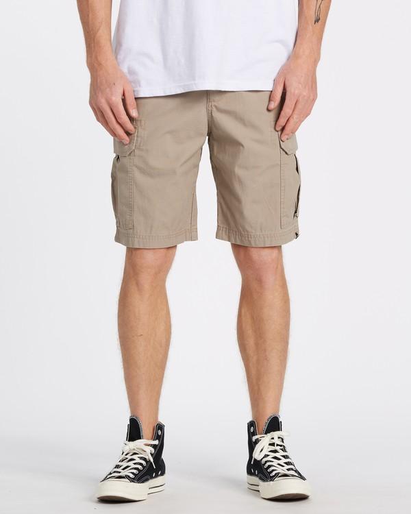 "0 Scheme Cargo 21"" - Pantalones cortos de camuflaje para Hombre Verde S1WK10BIP0 Billabong"