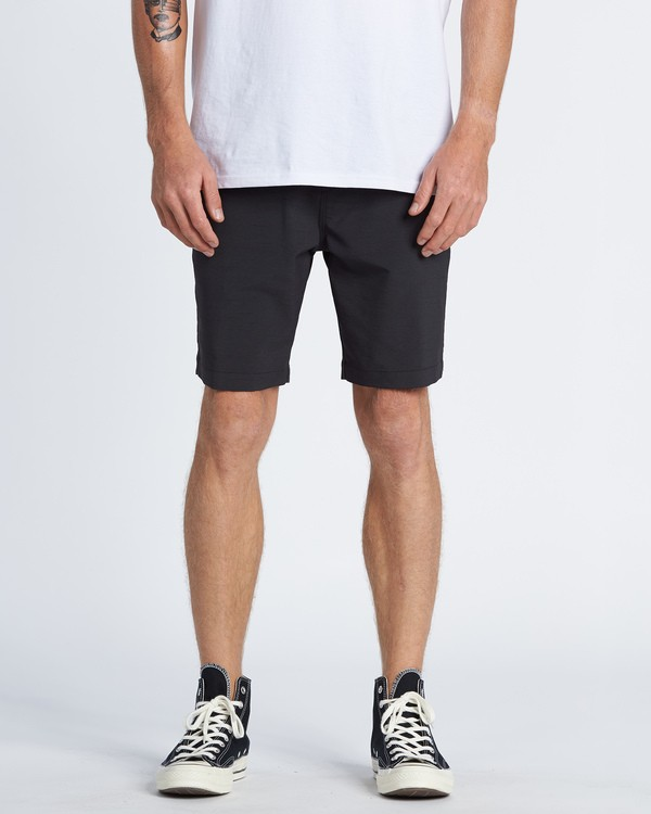 "0 Surftrek Wick 20"" - Performance Shorts für Herren Schwarz S1WK13BIP0 Billabong"