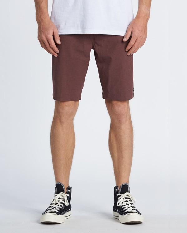 """0 Crossfire 21"""" - Pantalones cortos sumergibles para Hombre Rojo S1WK19BIP0 Billabong"""