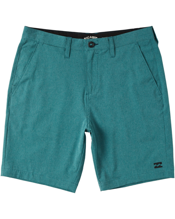 """0 Crossfire Mid 19"""" - Submersible Shorts for Men Green S1WK21BIP0 Billabong"""