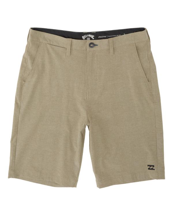 """0 Crossfire Mid 19"""" - Pantalones cortos sumergibles para Hombre Verde S1WK21BIP0 Billabong"""