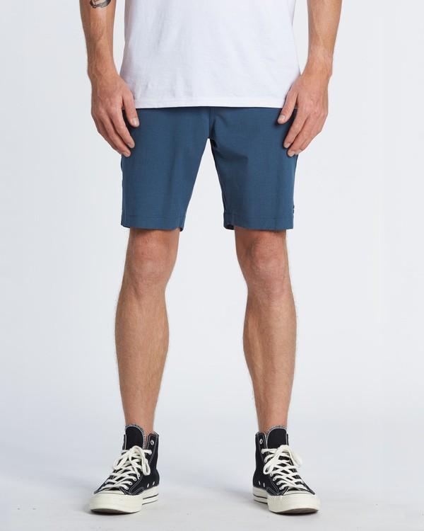 """0 Crossfire Mid 19"""" - Pantalones cortos sumergibles para Hombre Azul S1WK21BIP0 Billabong"""