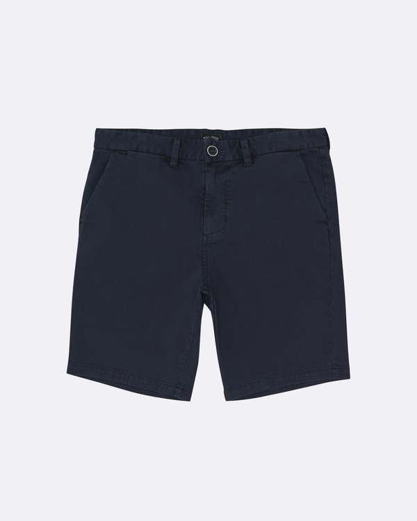 "0 New Order Wave Wash 19"" - Pantalones cortos para Hombre Azul S1WK33BIP0 Billabong"