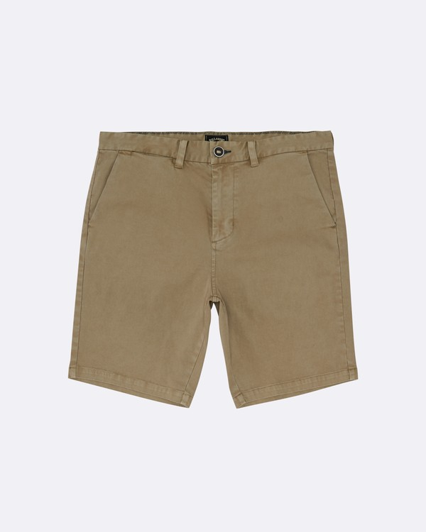 "0 New Order Wave Wash 19"" - Shorts für Herren Grau S1WK33BIP0 Billabong"