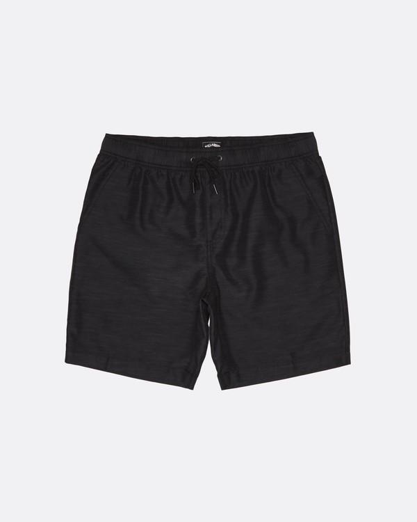 0 Larry Submersible - Pantalones cortos para Hombre Negro S1WK36BIP0 Billabong