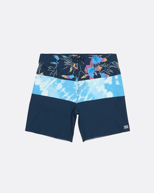 "0 Tribong Pro 17"" - Bedruckte Boardshorts für Jungen Blau S2BS13BIP0 Billabong"