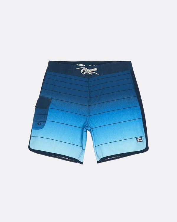 """0 73 Strippe Pro 18"""" - Bañador de surf de pantalón de rayas para Niño Azul S2BS14BIP0 Billabong"""
