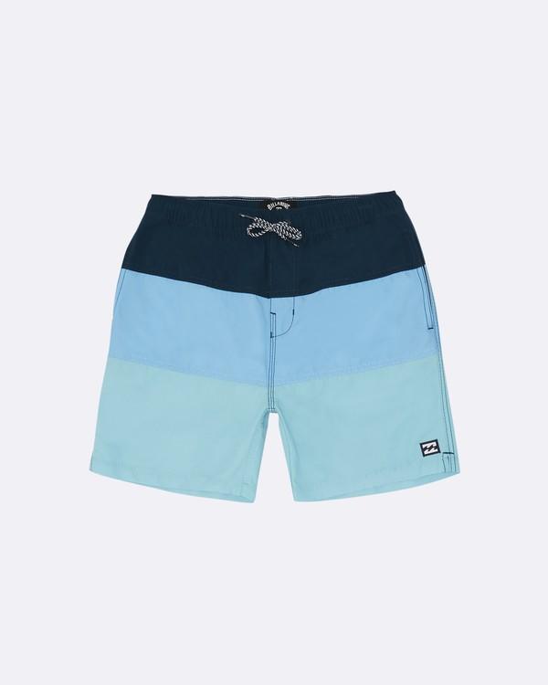 """0 Tribong Laybacks 14"""" - Bañador de surf de pantalón para Niño Azul S2LB03BIP0 Billabong"""