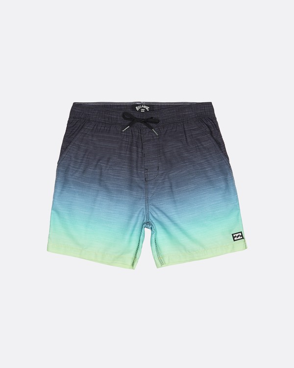 "0 All Day Faded Laybacks 16"" - Boardshort à taille élastique pour Garçon Jaune S2LB06BIP0 Billabong"