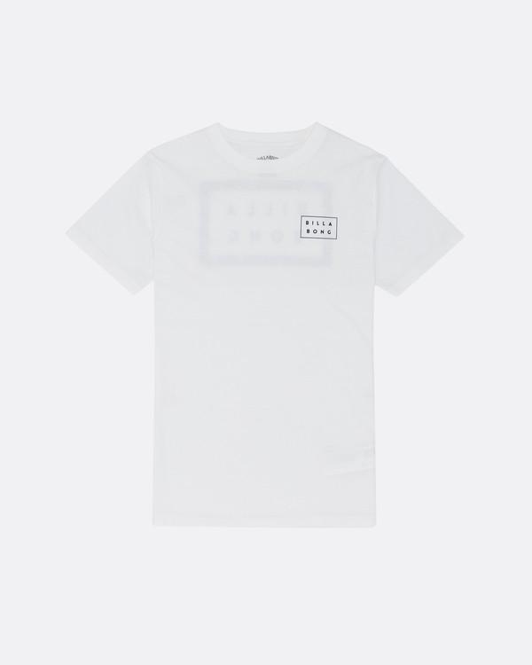 0 Die Cut - T-Shirt für Jungen Weiss S2SS08BIP0 Billabong