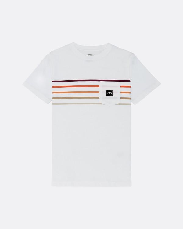 0 Riot Spinner - T-Shirt für Jungen Weiss S2SS11BIP0 Billabong