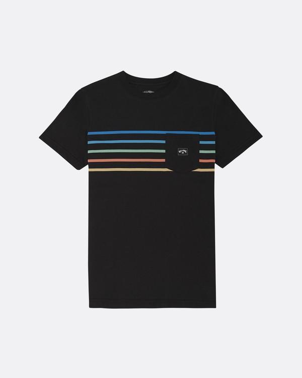 0 Riot Spinner - T-Shirt für Jungen Schwarz S2SS11BIP0 Billabong