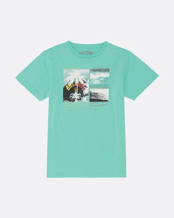 0 Crash - T-Shirt for Boys Blue S2SS15BIP0 Billabong