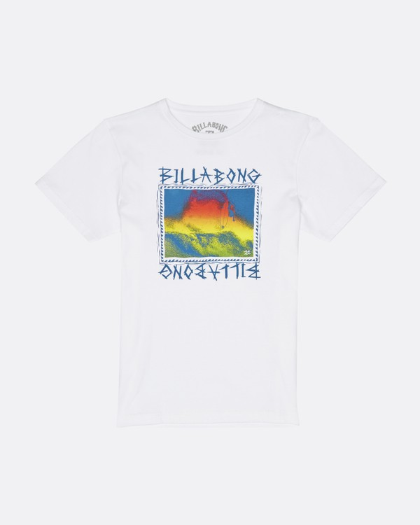 0 Bone Yard - T-Shirt for Boys White S2SS16BIP0 Billabong