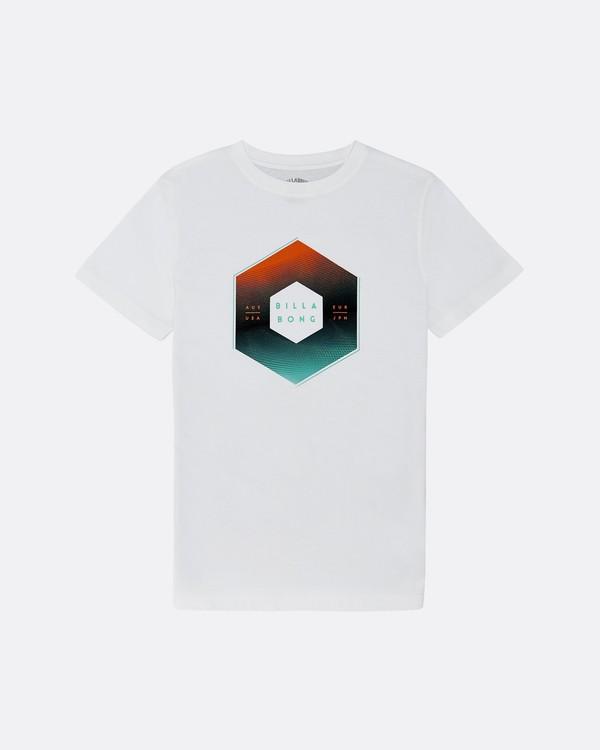 0 X Cess - T-Shirt für Jungen Weiss S2SS18BIP0 Billabong