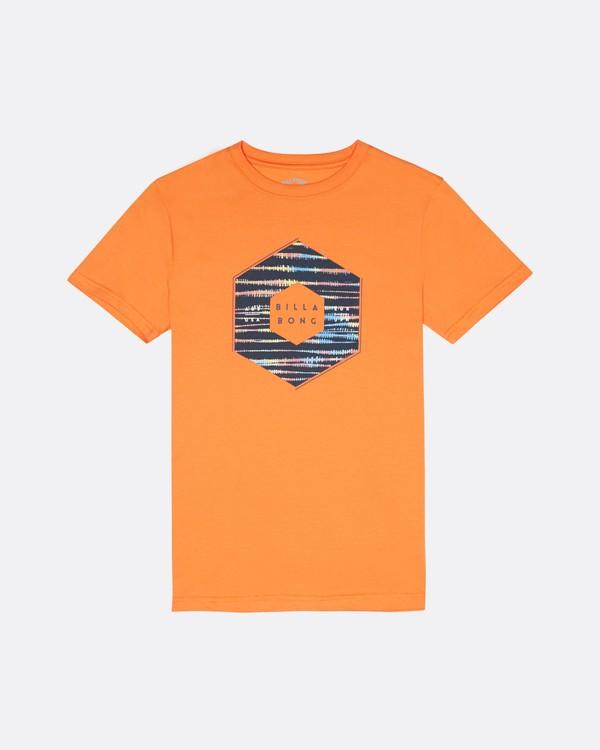 0 X Cess - T-Shirt für Jungen Orange S2SS18BIP0 Billabong