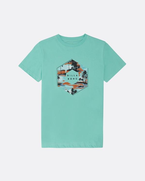 0 X Cess - T-Shirt für Jungen Blau S2SS18BIP0 Billabong