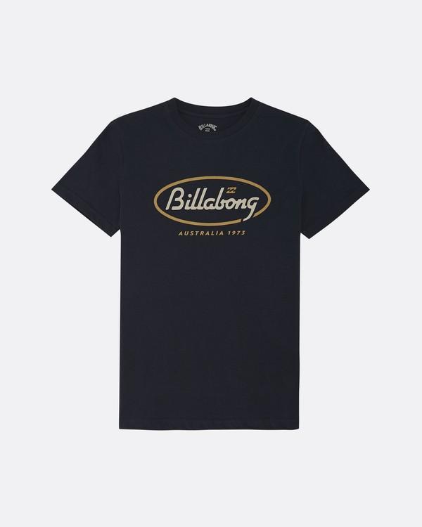 0 State Beach - T-Shirt pour Garçon Bleu S2SS19BIP0 Billabong