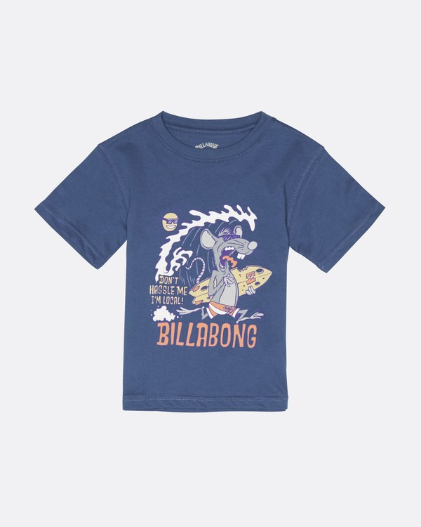 0 Rat Local  - T-Shirt für Jungen Blau S2SS20BIP0 Billabong