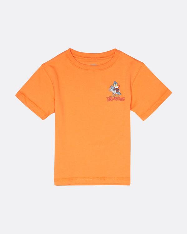 0 Kriss  - Camiseta para Niño Naranja S2SS21BIP0 Billabong