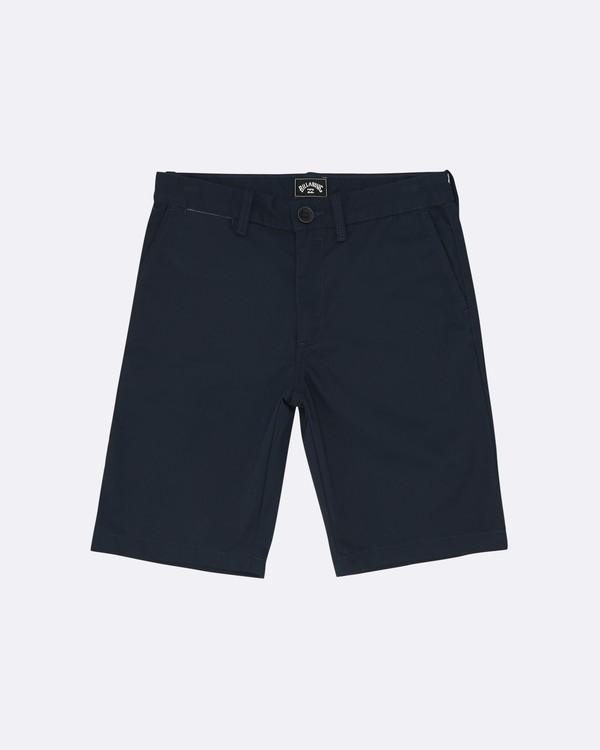 """0 Carter 17"""" - Shorts für Jungen Blau S2WK11BIP0 Billabong"""