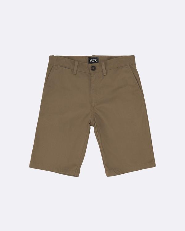 """0 Carter 17"""" - Pantalones cortos para Niño Verde S2WK11BIP0 Billabong"""