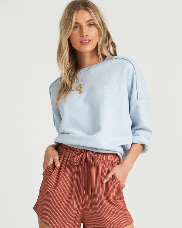 0 Eco Fleece - Sweatshirt für Damen Blau S3CR03BIP0 Billabong