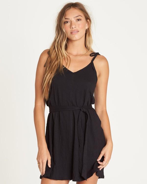 0 Going Steady - Robe pour Femme Noir S3DR02BIP0 Billabong