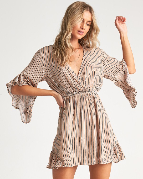0 Love Light - Minivestido estampado para Mujer Beige S3DR05BIP0 Billabong