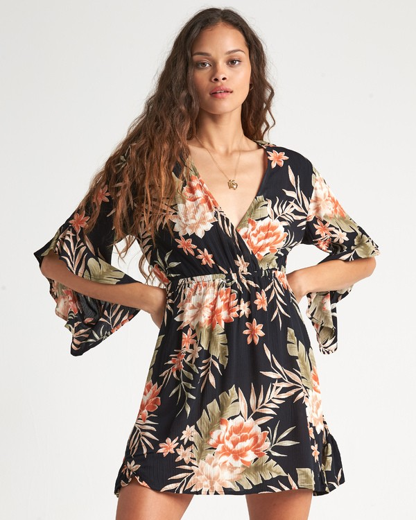 0 Love Light - Minivestido estampado para Mujer Negro S3DR05BIP0 Billabong