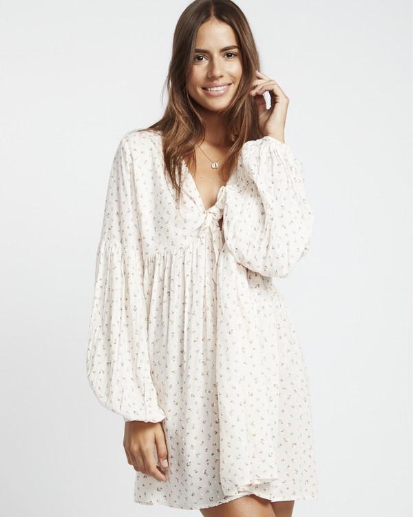 0 Blissfull - Vestido para Mujer Blanco S3DR16BIP0 Billabong