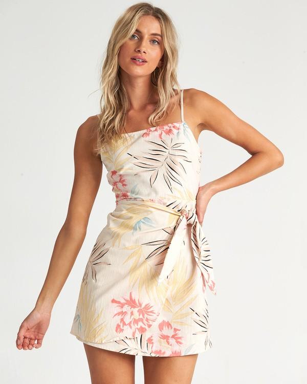 0 Island Hopper - Vestido con estampado floreado para Mujer Multicolor S3DR28BIP0 Billabong