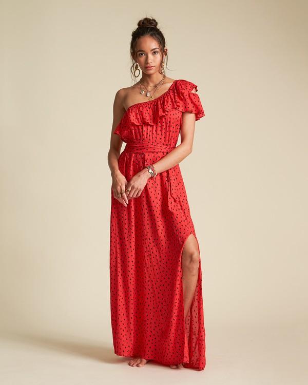 0 Your Side - Robe longue imprimée pour Femme  S3DR38BIP0 Billabong